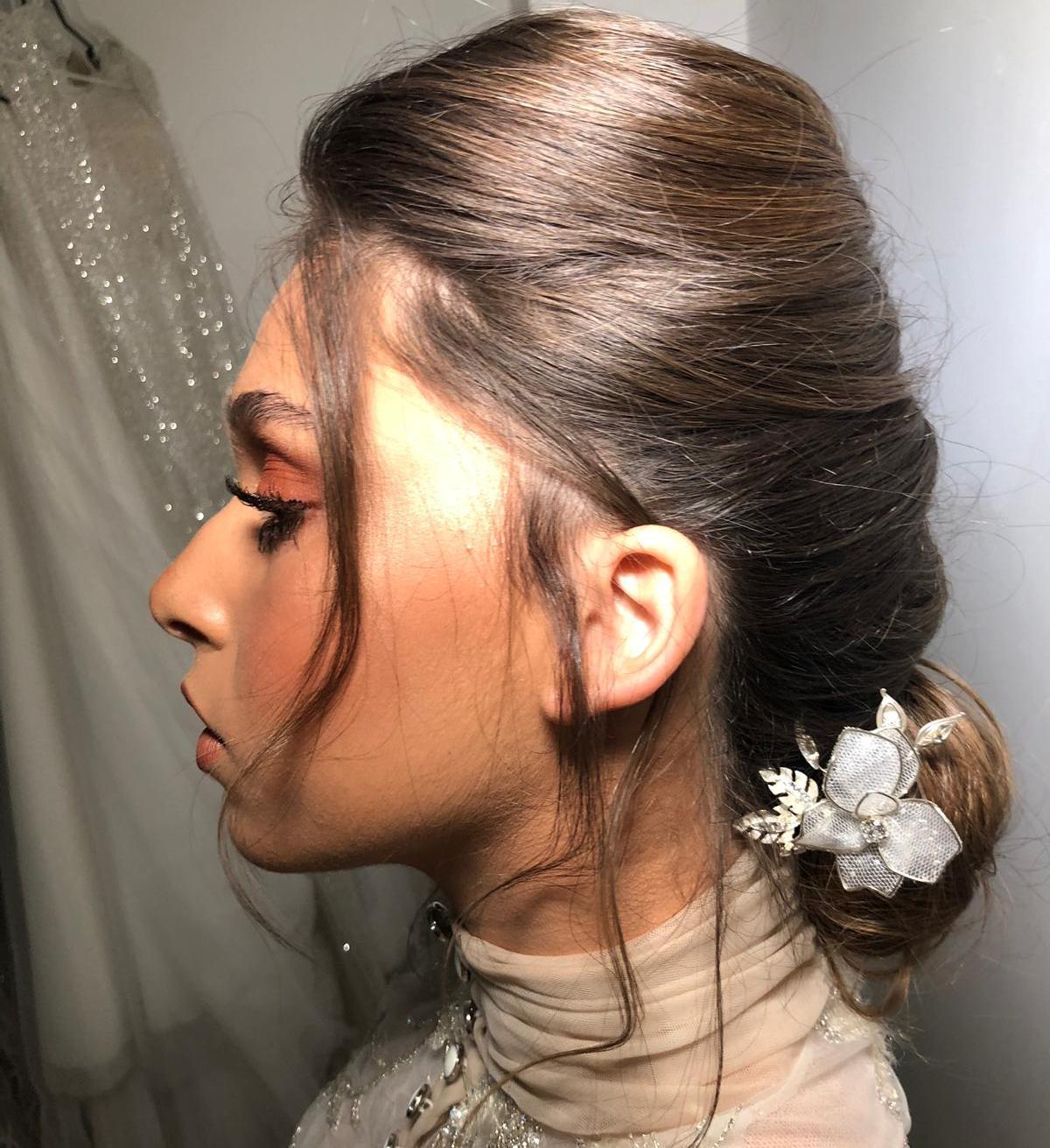 סיכת פרח שני