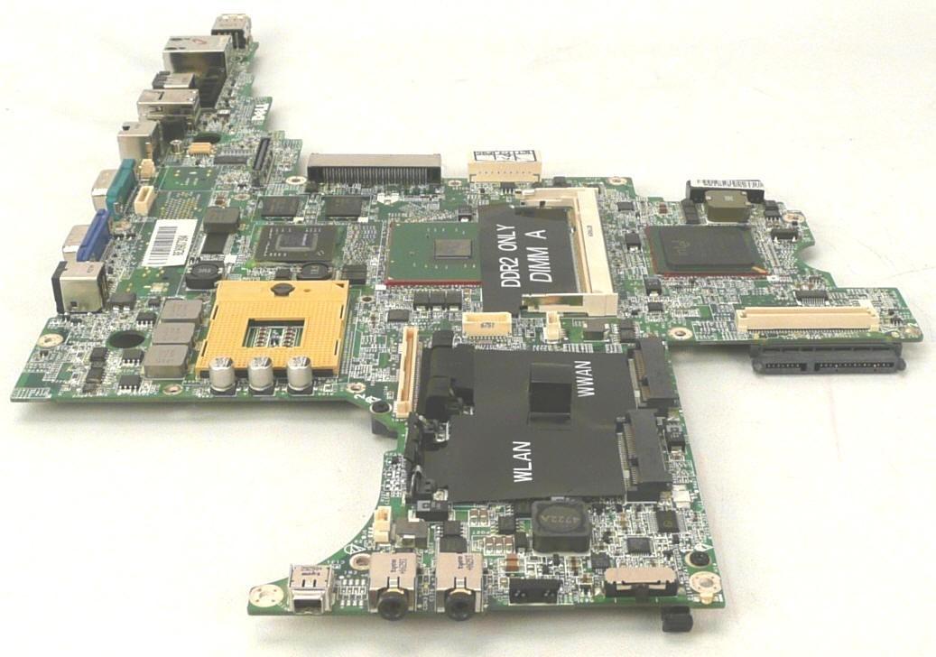 לוח למחשב נייד דל DELL Latitude D830 Motherboard 256MB nVIDIA RT783 MY199
