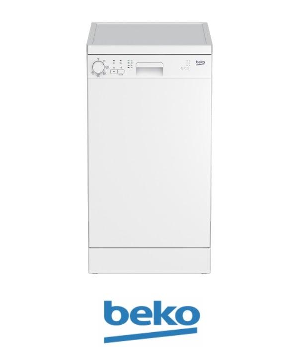 beko מדיח כלים צר דגם DFS05014W לבן