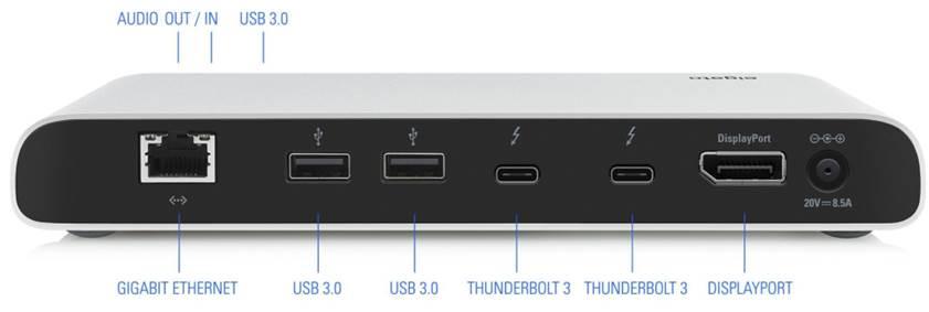 תחנת עגינה Elgato Thunderbolt 3 Dock 10DAA8501