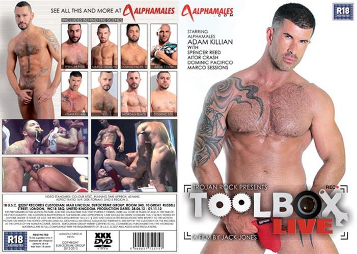 סרט גייז גברים מקועקעים Toolbox Live
