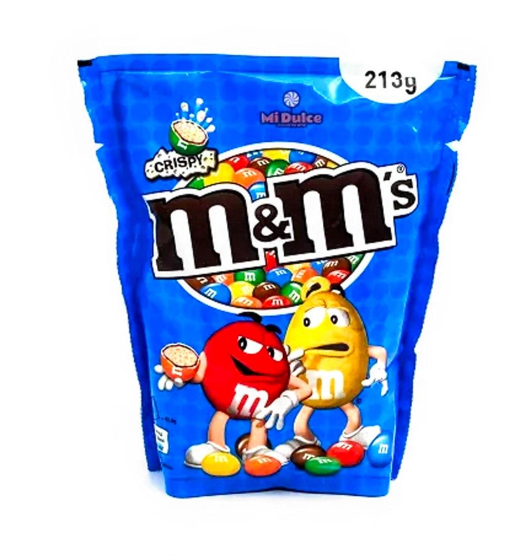 M&M  קריספי גדול!