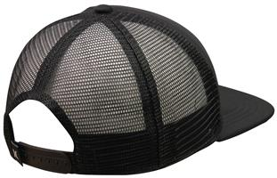 Hurley One and Only Square Trucker Hat - Black