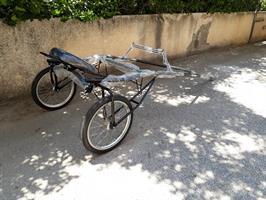כרכרת אימון לסוס כסא יחיד