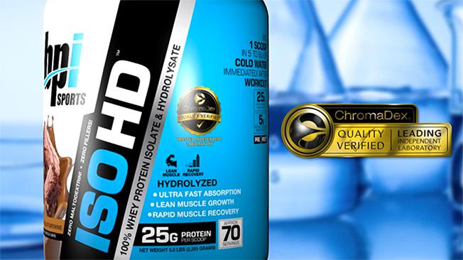 אבקת חלבון איזו ISO BPI HD