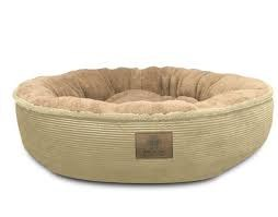 מיטה עגולה פרוויתית לחתולים - AKC