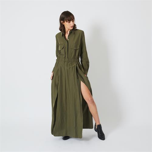 שמלת נלי ירוקה