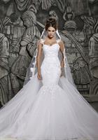 שמלת כלה רומנטית בעיצוב בתולת ים