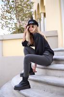 חולצת אריאנה שחור