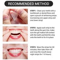 רצועות להלבנת שיניים-פחם במבוק