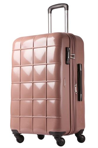 """מזוודה טרולי קטנה אקולק קשיחה  20"""" Echolac CHOCOLATE"""