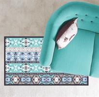 שטיח pvc פי וי סי מעוצב (דגם 1058)