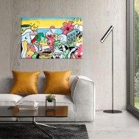 תמונה צבעונית לסלון של האמן כפיר תג'ר