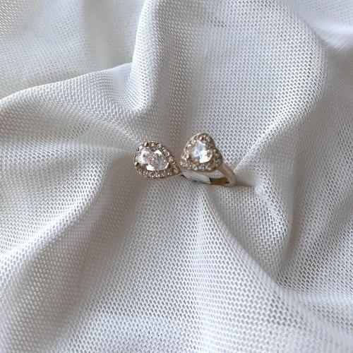 טבעת צורות פתוחה- ציפוי זהב