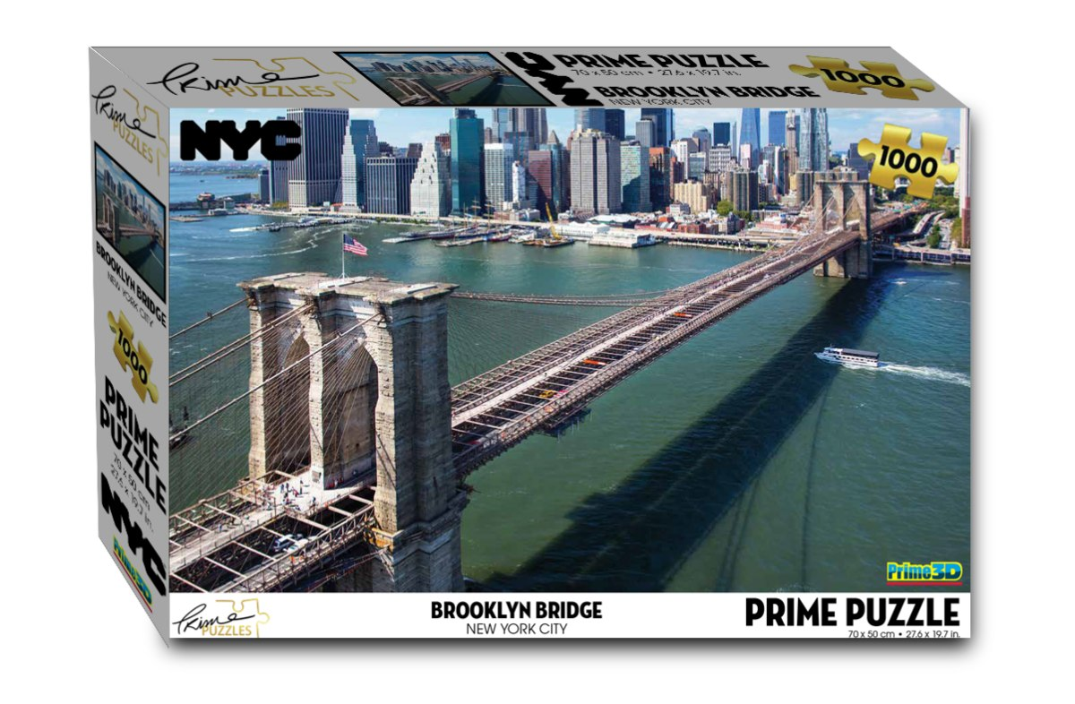 פאזל 1000 ניו יורק  גשר ברוקלין