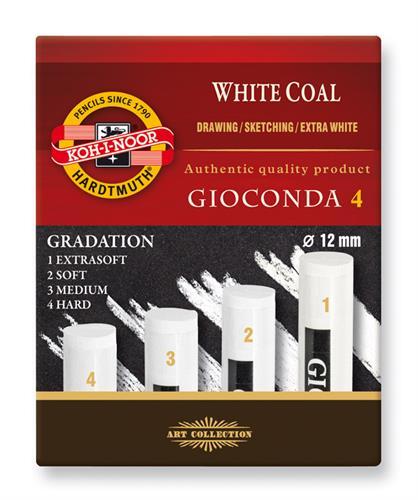 סט פחם לבן 12 ממ 1234 KOHINOOR