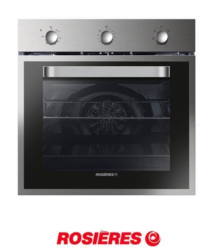 ROSIERES תנור בנוי בנפח גדול במיוחד 68 ליטר דגם RFS1151IN