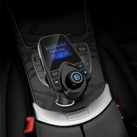 משדר fm מקצועי T11  לרכב+דיבורית בלוטוס+aux