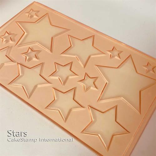 תבנית כוכבים גדולים ליצירה בשוקולד | כוכבים לעוגות סמאש | תבנית ליצירה