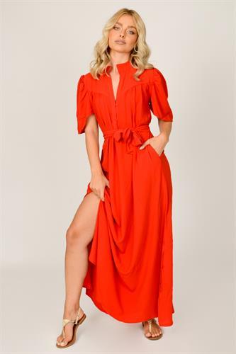 שמלת לילוש לערב אדומה