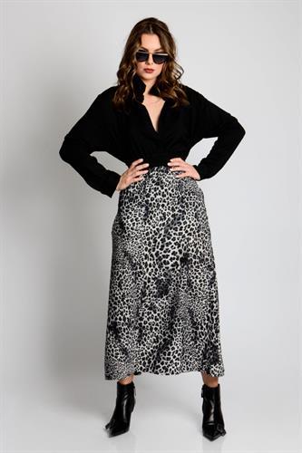 חצאית פאולינה מנומר
