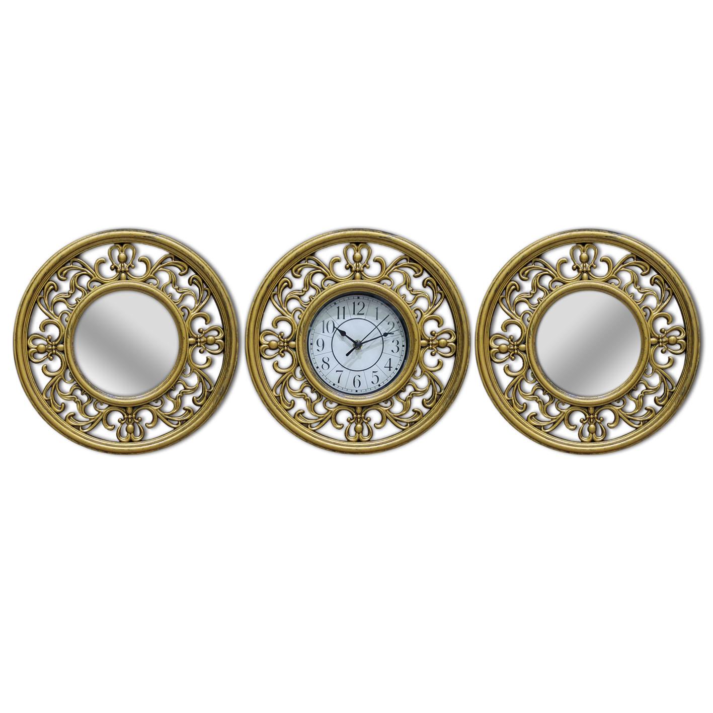 שעון קיר מעוצב מסגרת עיטורים 1232-1