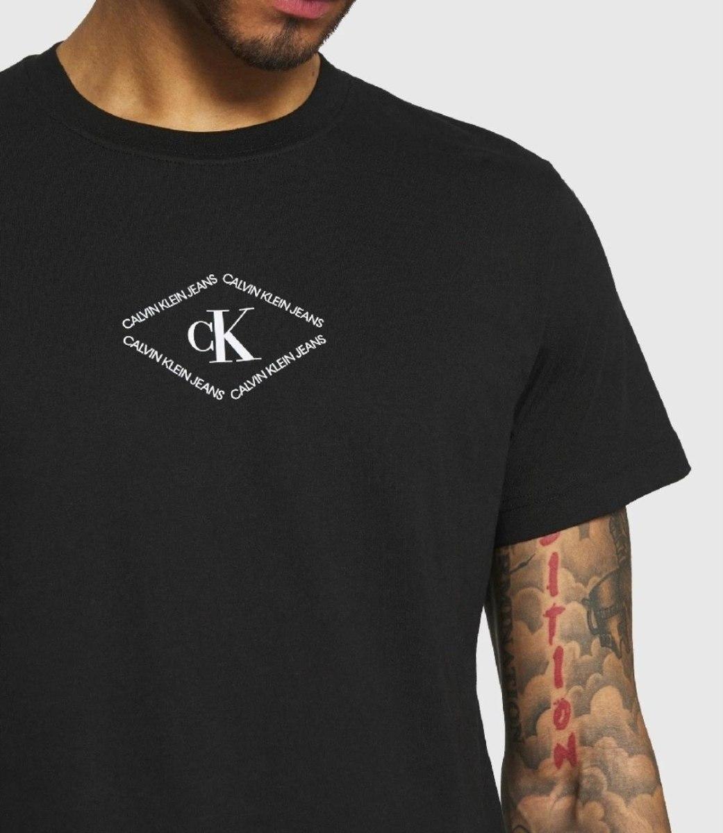 גברים   CALVIN KLEIN T-SHIRT BLACK