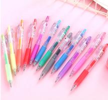 סט 6 עטים זוהרים בצבעים שונים