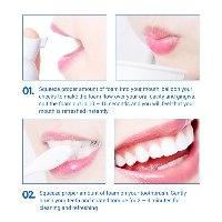 מוס לניקיון חלל הפה והלבנת השן