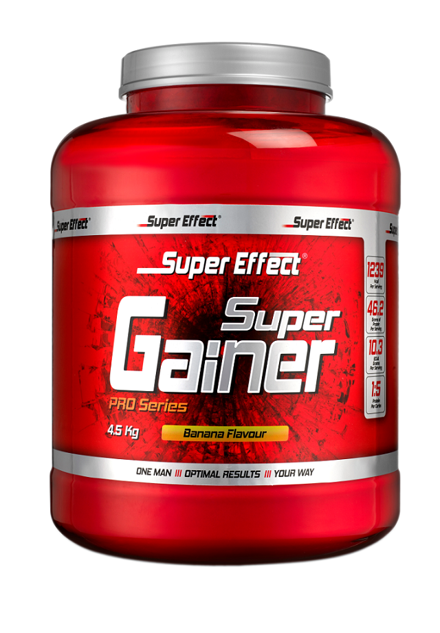 סופר גיינר כשר 4.5 קג מבית Super Effect + חטיף אנרגיה+שייקר