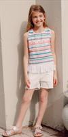 חולצת פסים בנות