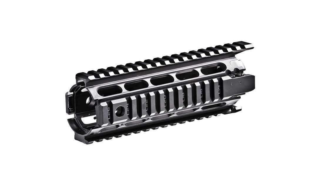 X4MS – Picatinny Aluminum Quad Rail – AR15/M16/M4