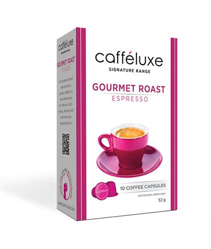caffeluxe Gourmet Roast תואם נספרסו