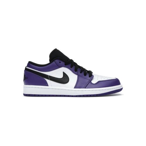 Nike Air Jordan 1 Low Court Purple White