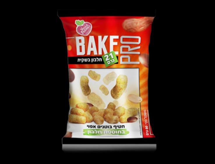 להיט|BAKE PRO חטיף בוטנים במבה 21 גרם חלבון כשר 4 יח במארז