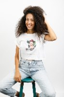 חולצת טישירט קרופ - פרידה קאלו