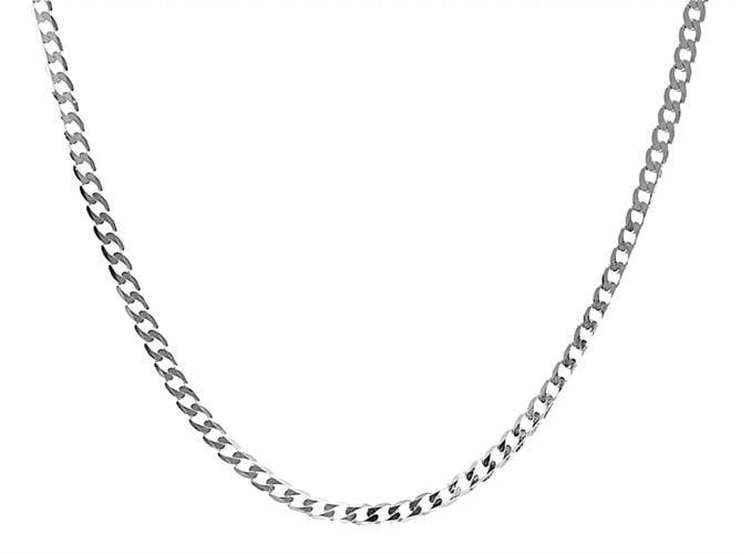 שרשרת חוליות עשויה כסף 925 עם נוכחות לגבר