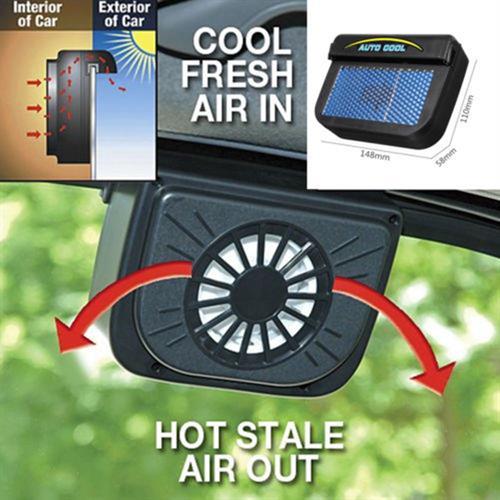 מאוורר סולארי לקירור הרכב
