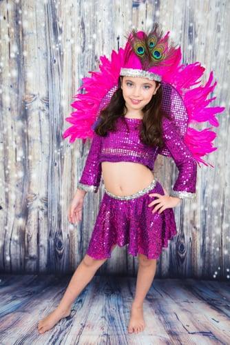 רקדנית ברזילאית מפוארת