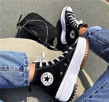 נעלי נשים CONVERSE  שחור