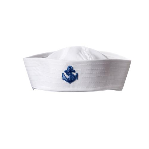 כובע מלחים לבן