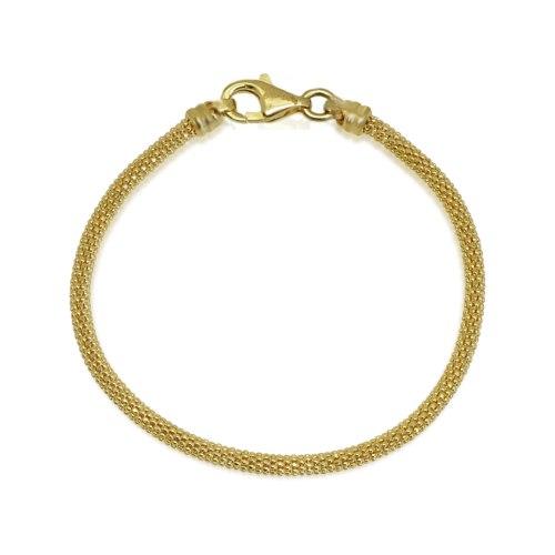 צמיד זהב כדורים לאישה דגם  פופקורן