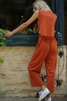 אוברול/סט טופ + מכנסיים