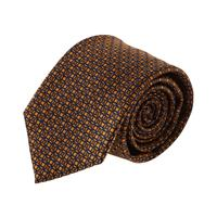 עניבה קלאסית ריבועים כתום