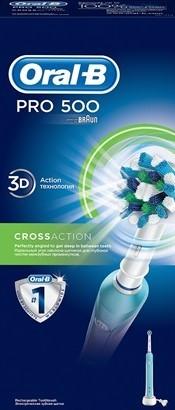 מברשת שיניים ORAL-B בראון PRO500