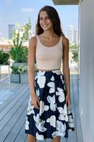 חצאית בלון הדפסים