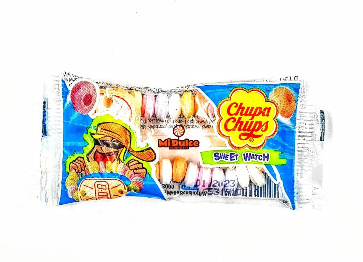 Chupa Chups בצורת שעון יד