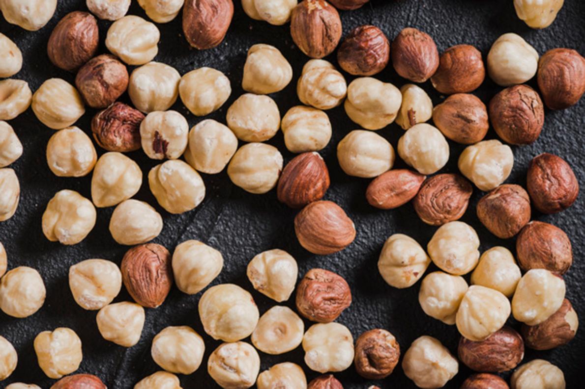 אגוזי לוז בונדוק טבעיים