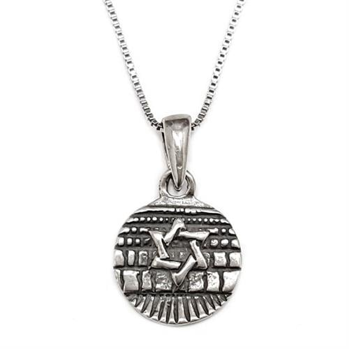 מגן דוד מכסף  T5973