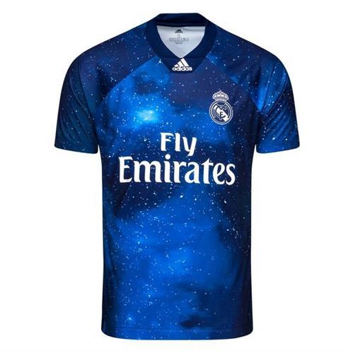 חולצת משחק ריאל מדריד רביעית גרסת EA-SPORT במהדורה מוגבלת
